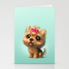 Yorkshire Terrier Stationery Cards