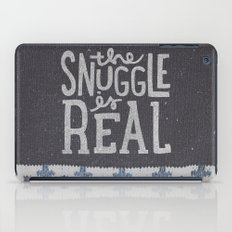 the snuggle is real iPad Case
