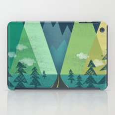 The Long Road at Night iPad Case