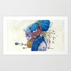 spring muse Art Print