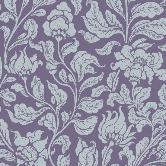 neo ethnic lavender Art Print