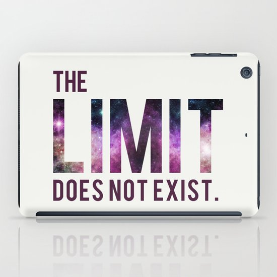 The Limit Does Not Exist - Mean Girls quote from Cady Heron iPad Case