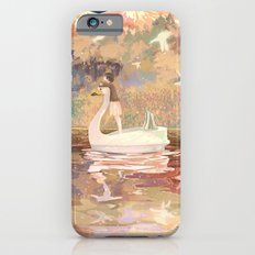 Swan boat iPhone 6 Slim Case