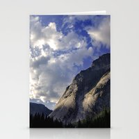 Yosemite National Park - Granite Mountain Stationery Cards
