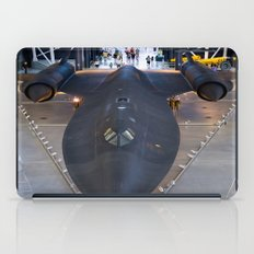 Sr71-Blackbird at the Dulles Air & Space Museum iPad Case