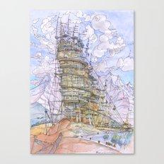 La Citta' del Vento  Canvas Print