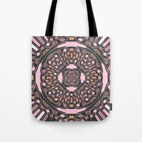 Complex geometric abstract Tote Bag