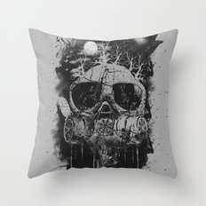 Suffocate Throw Pillow