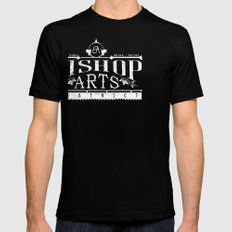 Bishop Arts District SMALL Mens Fitted Tee Black