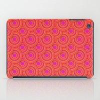 Tropical Parasols Pattern iPad Case