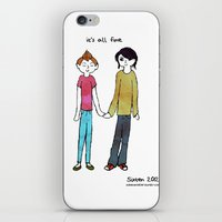 It's all fine iPhone & iPod Skin