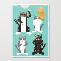 Cats I Have Known Canvas Print