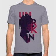 Under The Skin - Alterna… Mens Fitted Tee Slate SMALL