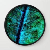 BreadfruitLeaf Wall Clock