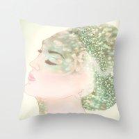 Salacia, Queen Of Mermai… Throw Pillow