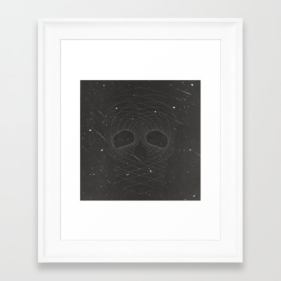 Dead Space Framed Art Print