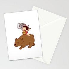 Boombox Kintaro -remake version- Stationery Cards