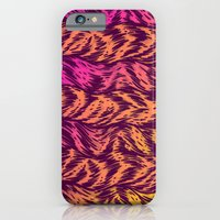 iPhone & iPod Case featuring Fur Stripes by Gimetzco's Damaged Goods