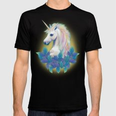 Unicorn SMALL Black Mens Fitted Tee