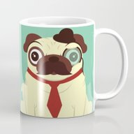 Pug In A Hat Mug