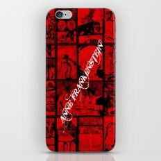 RED - Anne Frankenstein Book I - Resurrection  iPhone & iPod Skin