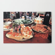 I Thought You Said We'd Meet Up At The Bread Basket? Canvas Print
