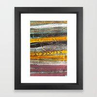 Dusk. Framed Art Print
