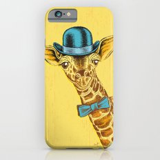 I'm too SASSY for my hat! Vintage Painted Giraffe. Slim Case iPhone 6s