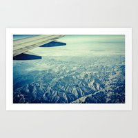 The flight home Art Print