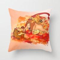 THE CREATION Throw Pillow