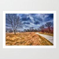 Templar Path Art Print