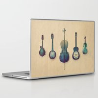 lady Laptop & iPad Skins featuring Good Company by Amy Hamilton