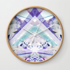 Crystal Light Wall Clock