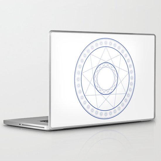 Anime Magic Circle 9 Laptop & iPad Skin