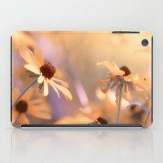 Suns star in the autumn garden iPad Case