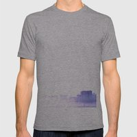 Ghost City Mens Fitted Tee Athletic Grey SMALL