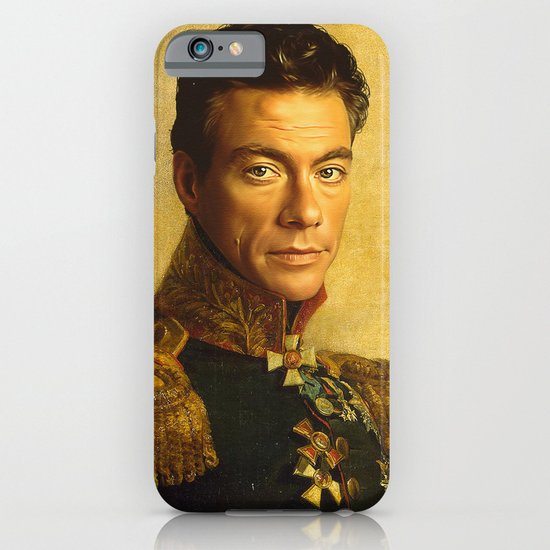 Jean Claude Van Damme - replaceface iPhone & iPod Case