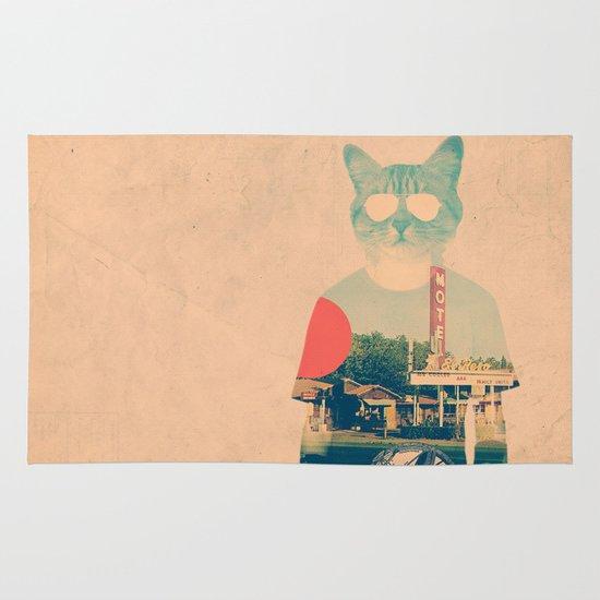 Cool Cat Area & Throw Rug