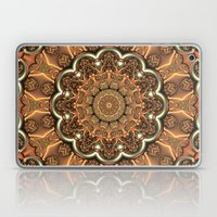 Molten Copper Mandala Laptop & iPad Skin