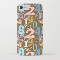 Numberology iPhone 7 Slim Case