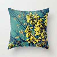 Neon Trees Throw Pillow