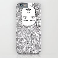 Long Hair Don't Care iPhone 6 Slim Case