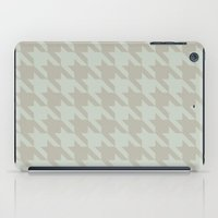 Houndstooth iPad Case