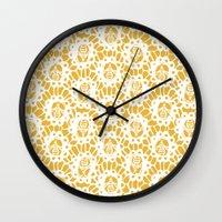Bee Charmer Wall Clock