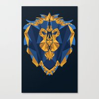 For The Alliance Canvas Print