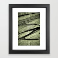 Again the Smoke Framed Art Print