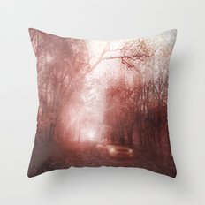 Ghost race Throw Pillow