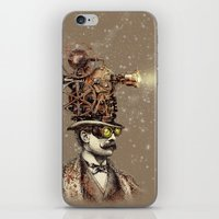 The Projectionist (sepia… iPhone & iPod Skin