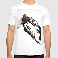 And All Things Loveless Mens Fitted Tee White SMALL