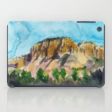 sunset in the valley iPad Case